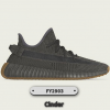 Adidas Men And Women Yeezy Boost 350 V2 Cinder